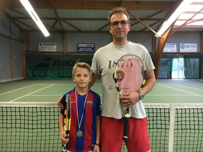 Eliot vice champion Saône et Loire de sa catégorie en 2017