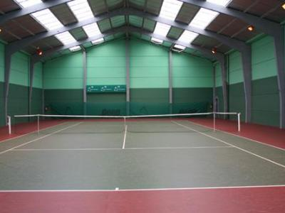 Salle de tennis vue 2