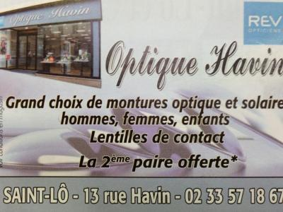 Sponsor - Optique HAVIN. SAINT LO