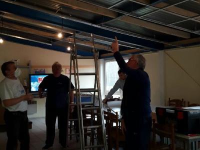 Structure faux-plafond